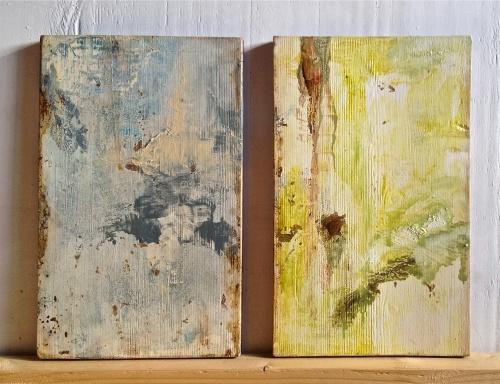 två dagboksmålningar 2015b