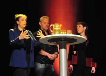 Ronnit Hasson, David Lundqvist, Linda Nordfors at Elektron