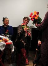 Ronnit Hasson, Linda Nordfors, Helena Hildur W. at Långsjö teater