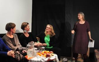 Magdi Beky Winnerstam, Paula von Seth, Helena Hildur W. at Långsjö teater