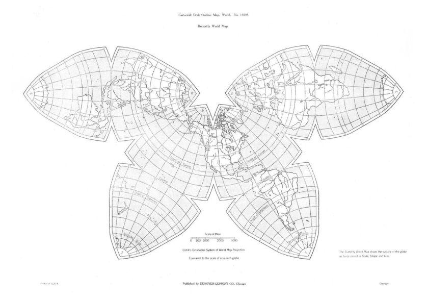 Denoyer-6-inch-globe-map