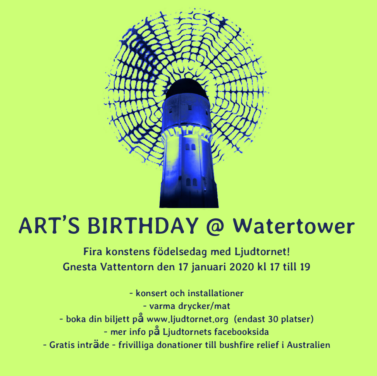 arts birthday @ watertower