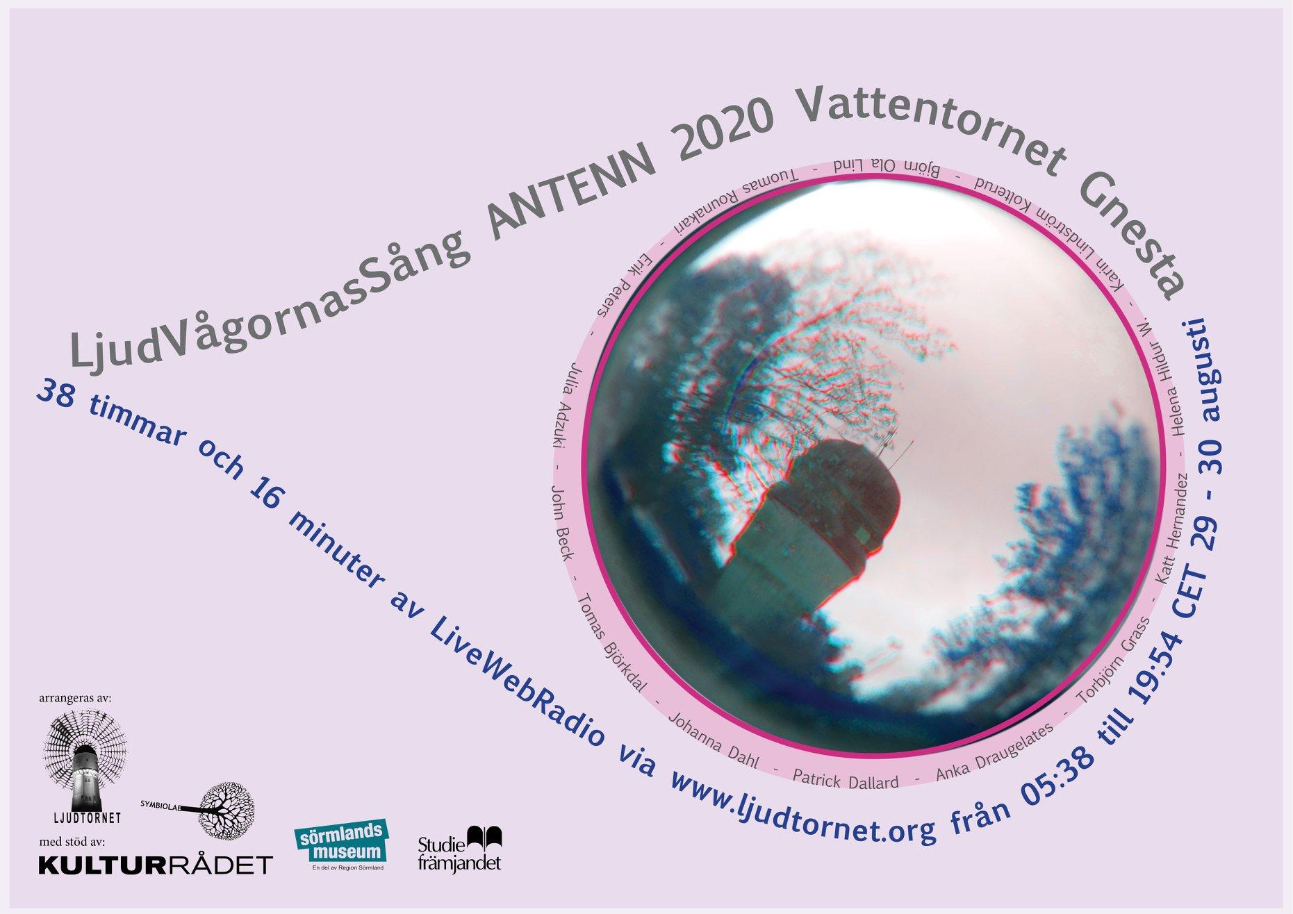 ANTENN 2020 affisch